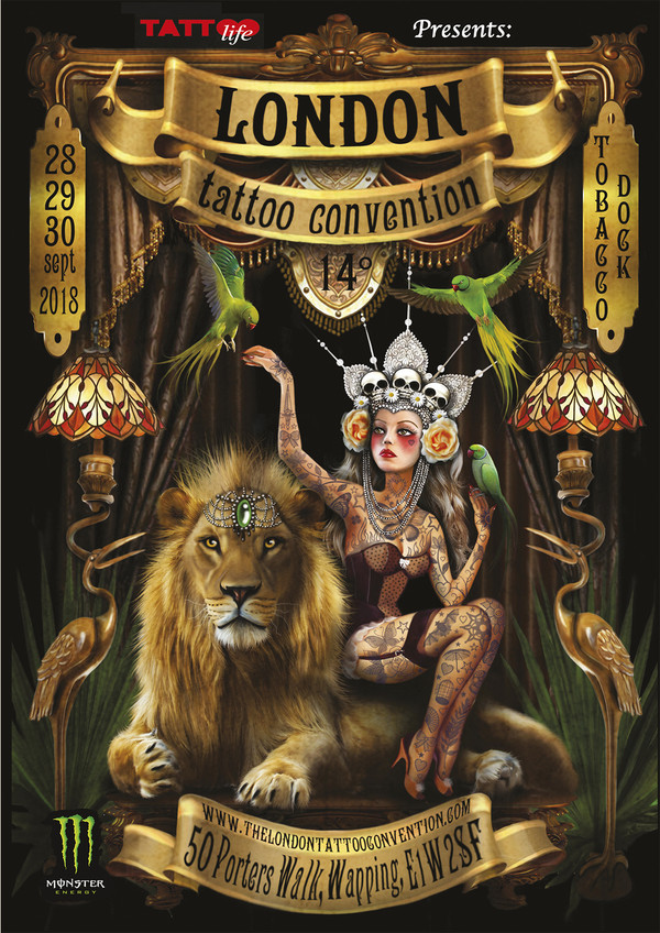 The London International Tattoo Convention 2018