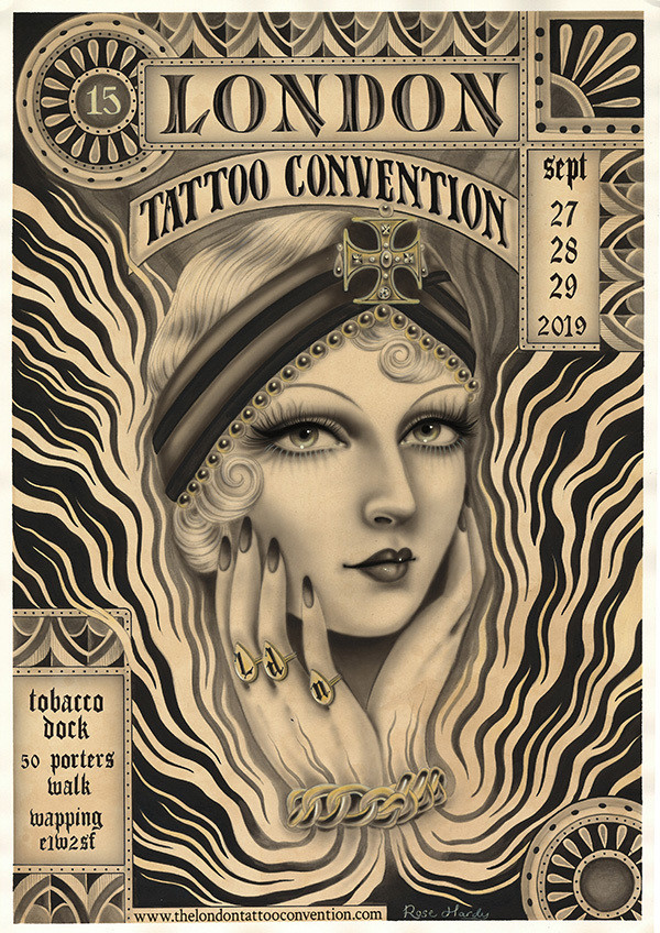 The International London Tattoo Convention 2019